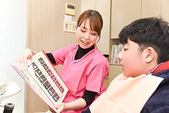 歯科衛生士説明